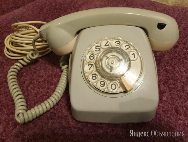 Телефонный аппарат стационарный дисковый Weidmann по цене 2500₽ - Проводные телефоны, фото 0