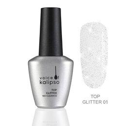 Дизайн ногтей - Top Glitter 01 Россия Top Glitter 01 без липкого слоя 10 мл Top Glitter 01, 0