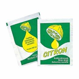 Средства для интимной гигиены - Влажные гигиенические салфетки «Лимон», 6*8 см, 500 шт, 0