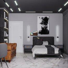 Диваны и кушетки - Дизайн-проект спальни в стиле лофт, 0