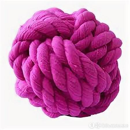 MAJOR игрушка для собак Мячик-узелок с пищалкой латекс 9х8.5х8.5 см  по цене 87₽ - Игрушки , фото 0