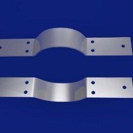 Дымоходы - Полухомут для вертикальных трубопроводов 40 ОСТ 24.125.128-01, Da 530, 0
