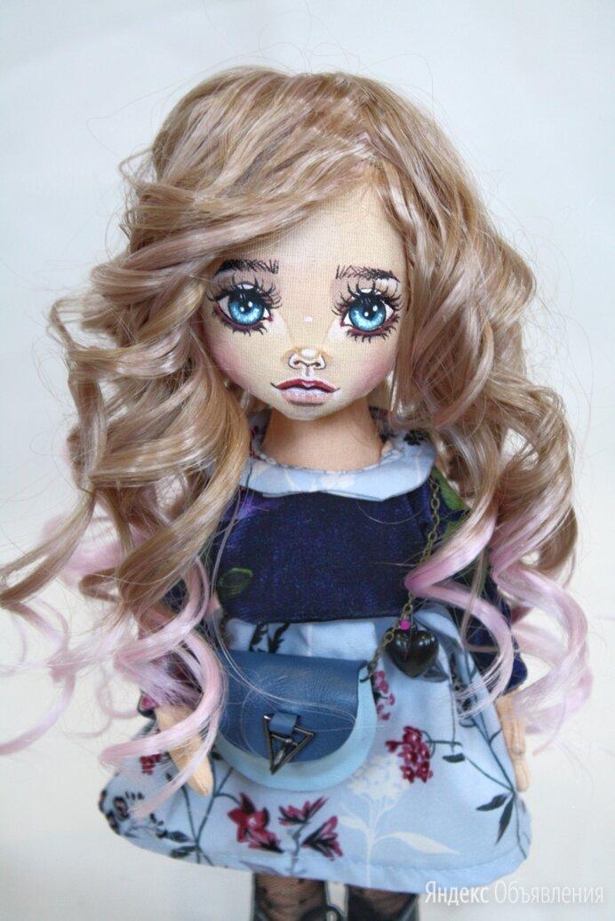 Кукла ручной работы по цене 4200₽ - Куклы и пупсы, фото 0