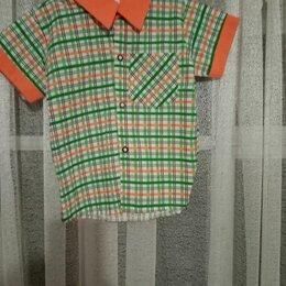 Рубашки - Рубашка с коротким рукавом.Рост 98. Цена 200., 0