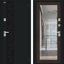 Входные двери - Входная дверь Thermo Флэш Декор Букле черное Wenge Veralinga, 0