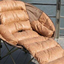 Лежаки и шезлонги - Кресло-шезлонг с матрасом в чехле Coolwalk 8081, 0