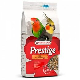 Корма - Престиж  Parakeets корм для средних попугаев  1кг, 0
