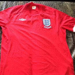 Футболки и майки - Игровая футболка сборной Англии, 0
