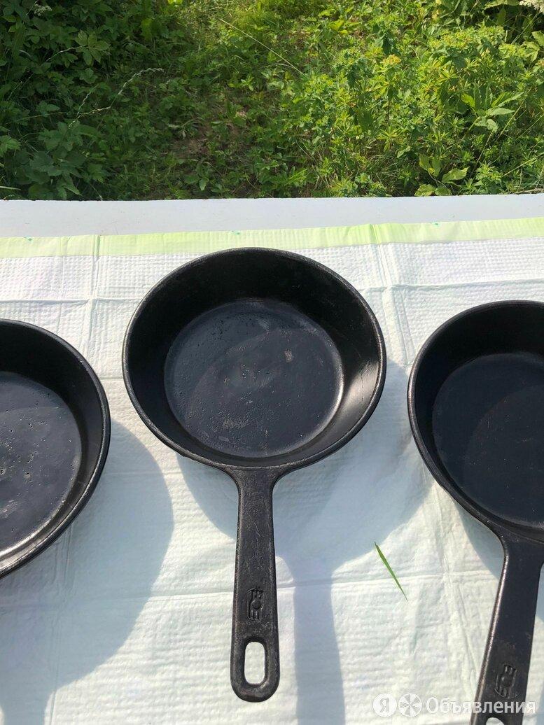 Сковорода чугунная Ситон и Белоруссия по цене 800₽ - Сковороды и сотейники, фото 0