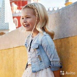 Джинсы - Джинсовка Mayoral для девочки, 8 лет, 0