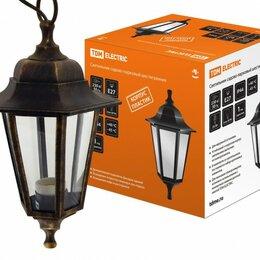 Уличное освещение - TDM НСУ 06-60-001 светильник уличный/садовый 60W E27 220B шестигр. подвес пла..., 0