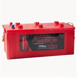 Блоки питания - Аккумулятор Unicorn Red 190 Ач 1300А евро, 0