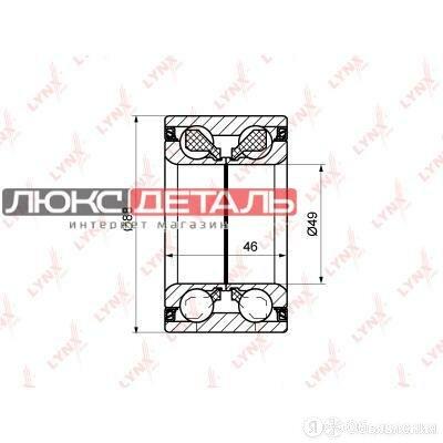 LYNXAUTO WB1201 Комплект подшипника ступицы колеса  зад прав/лев   по цене 1902₽ - Подвеска и рулевое управление , фото 0