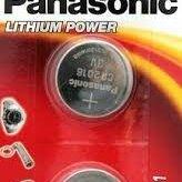 Батарейки - Элемент питания Panasonic CR2016 BL2, 0