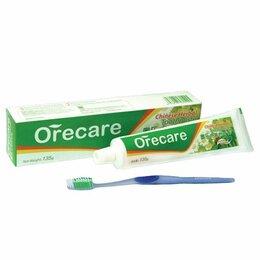 Зубная паста - Зубная паста Orecare с экстрактами китайских целебных трав (с зубной щеткой), 0