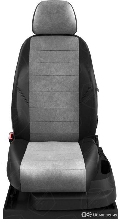 Чехлы на сидения Opel Zafira 1999 2005 Черный/Светло-серый (арт.OP20-0501-EC12) по цене 7680₽ - Аксессуары для салона, фото 0