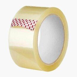 Упаковочные материалы - Скотч широкий прозрачный 48*66 м/ 40 мкм , 0