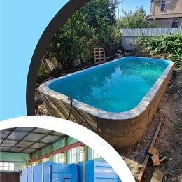 Бассейны - Полипропиленовый бассейн в частном доме , 0