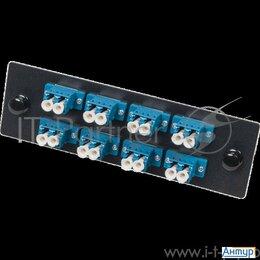 VoIP-оборудование - Адаптерная панель для кроссов Lan Fobm с 8 дуплексными адаптерами Sc/os2, 0
