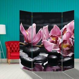 "Ширмы - Ширма ""Ветка орхидеи"", 160 × 160 см, 0"