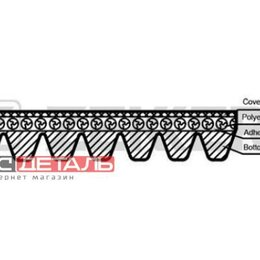 Отопление и кондиционирование  - ZEKKERT KR7PK1040 Ремень поликлиновой Nissan Juke F15 10-  Micra K12 05-  Qas..., 0