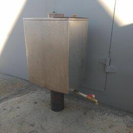 Аксессуары - Нержавеющая бак для банной печи на дымоход 115 мм, 0