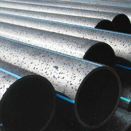 Водопроводные трубы и фитинги - Напорная труба для питьевой воды ПНД d225мм ПЭ100, 0
