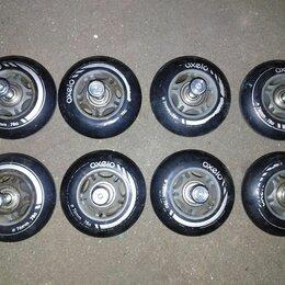 Аксессуары и запчасти - Колесики для роликов, диаметр 76 мм., 0