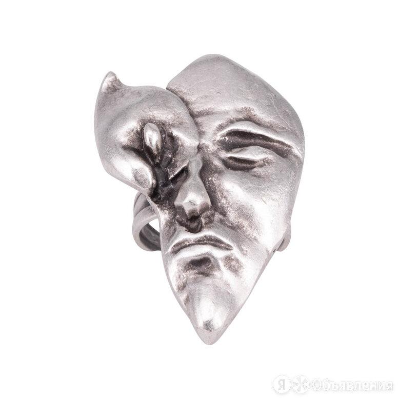 Кольцо бижутерное Лицо (Безразмерное, Бижутерный сплав, Серебристый) 4-56492 по цене 740₽ - Кольца и перстни, фото 0