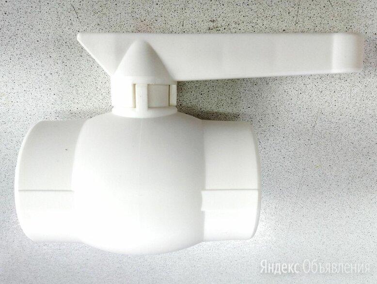 Кран шаровой полипропиленовый 50 мм по цене 300₽ - Краны для воды, фото 0