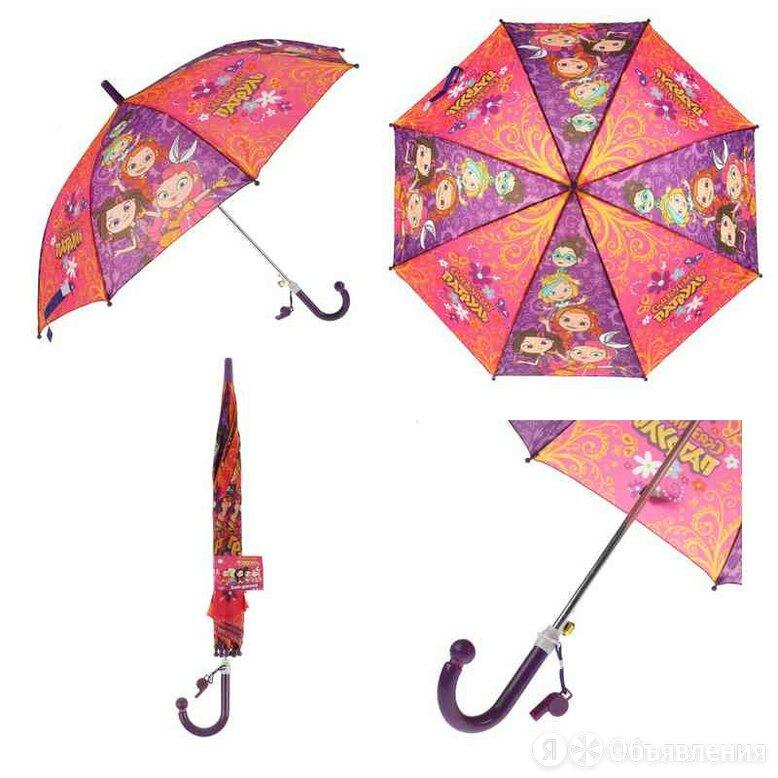 """UM45-SP-1 Зонт детский """"СКАЗОЧНЫЙ ПАТРУЛЬ"""" 45см, со свистком по цене 215₽ - Зонты, фото 0"""