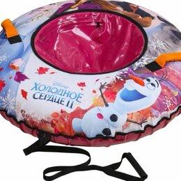 Тюбинги - Тюбинг «Холодное Сердце 2» с круговым дизайном (арт. TF2-100/1) диаметр 100 см. , 0