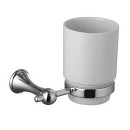 Мыльницы, стаканы и дозаторы - LEMARK Стакан для зубных щёток подвесной LEMARK Стандарт LM2136C, 0