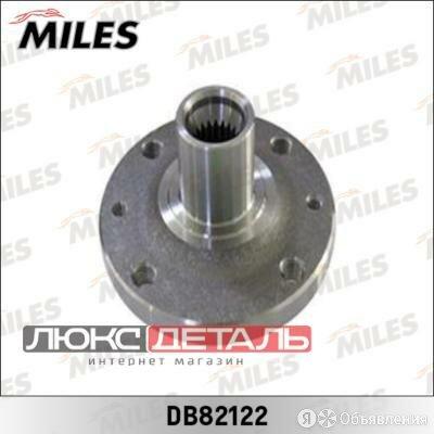MILES DB82122 Ступица колеса передняя  RENAULT LOGAN/SANDERO 04- .  по цене 985₽ - Подвеска и рулевое управление , фото 0