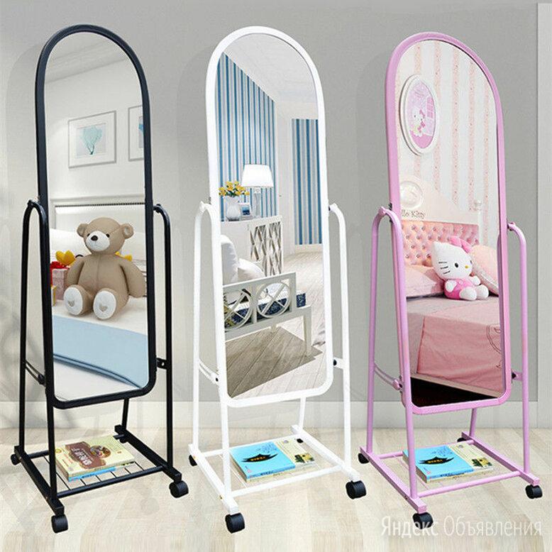 Зеркало напольное на колесиках по цене 2700₽ - Мебель, фото 0