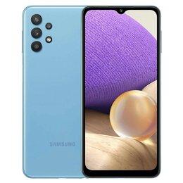 Мобильные телефоны - Смартфон Samsung Galaxy A32 4/64Gb (2021) (синий), 0