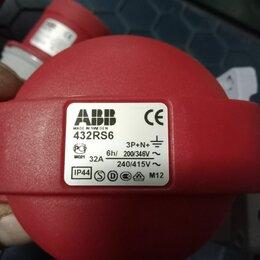 Электроустановочные изделия - Розетка кабельная easy&safe  416ec6 32 А  3P+N+E IP 44 6ч abb, 0