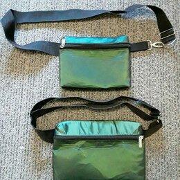 Сумки - Новая поясная сумка плотнотканевая, 0
