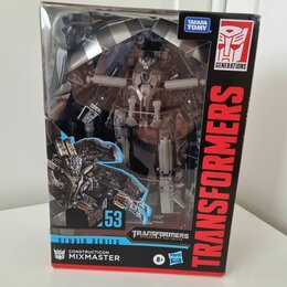 Роботы и трансформеры - Transformers studio series 53 Миксмастер, 0