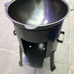 Туристическая посуда - Казан 6 литров с очагом, 0