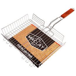 Решетки - Решётка-гриль для мяса, 25 х 35 х 56 см, Lux, глубокая, 0