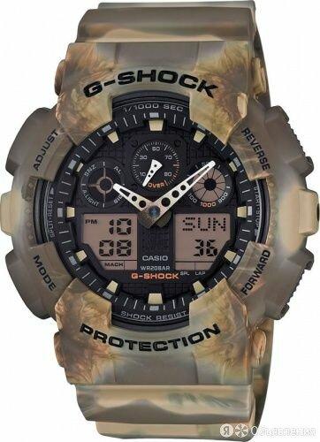 """Часы наручные """"Casio"""" GA-100MM-5A по цене 7690₽ - Наручные часы, фото 0"""