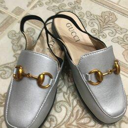 Балетки, туфли - Лоферы шлепки детские , 0
