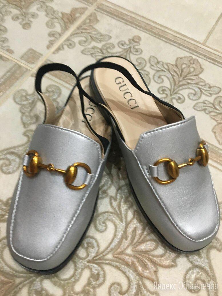 Лоферы шлепки детские  по цене 1500₽ - Балетки, туфли, фото 0