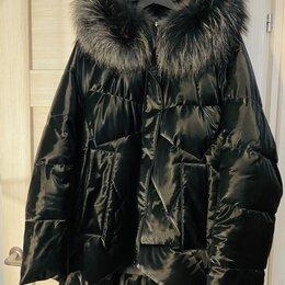 Куртки - Женский зимний пуховик, 0