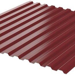 Кровля и водосток - Профнастил НС-10 RAL3005/3005 Красное Вино ш1.19м т0.45мм двухсторонний, 0