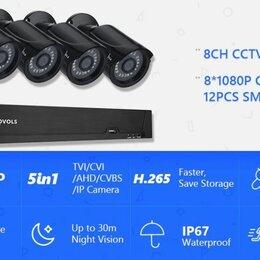 Готовые комплекты - Комплект видеонаблюдения movols 4*5Mp + регистратор, 0