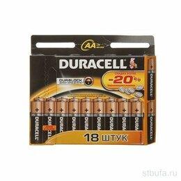 Батарейки - Батарейки Duracell LR6-18BL BASIC 18шт АА, 0