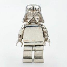 Фигурки и наборы - Минифигурка lego Darth Vader серебро 925 пробы, 0