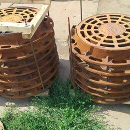 Комплектующие водоснабжения - Дождеприемник дк-1 чугунный круглый 98кг 150кн, 0